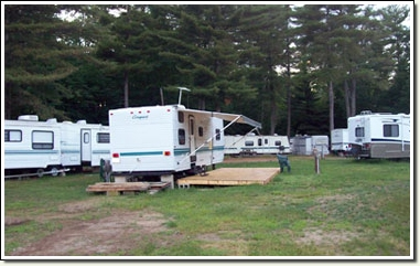 seasonal camp sites